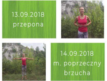Pilates Wewnętrzna Siła z Justyną Czudek 12-14.09.2018
