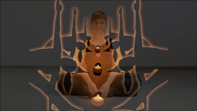 Joga przy świecach z Olgą Łopatiną – dla początkujących i szukających odprężenia