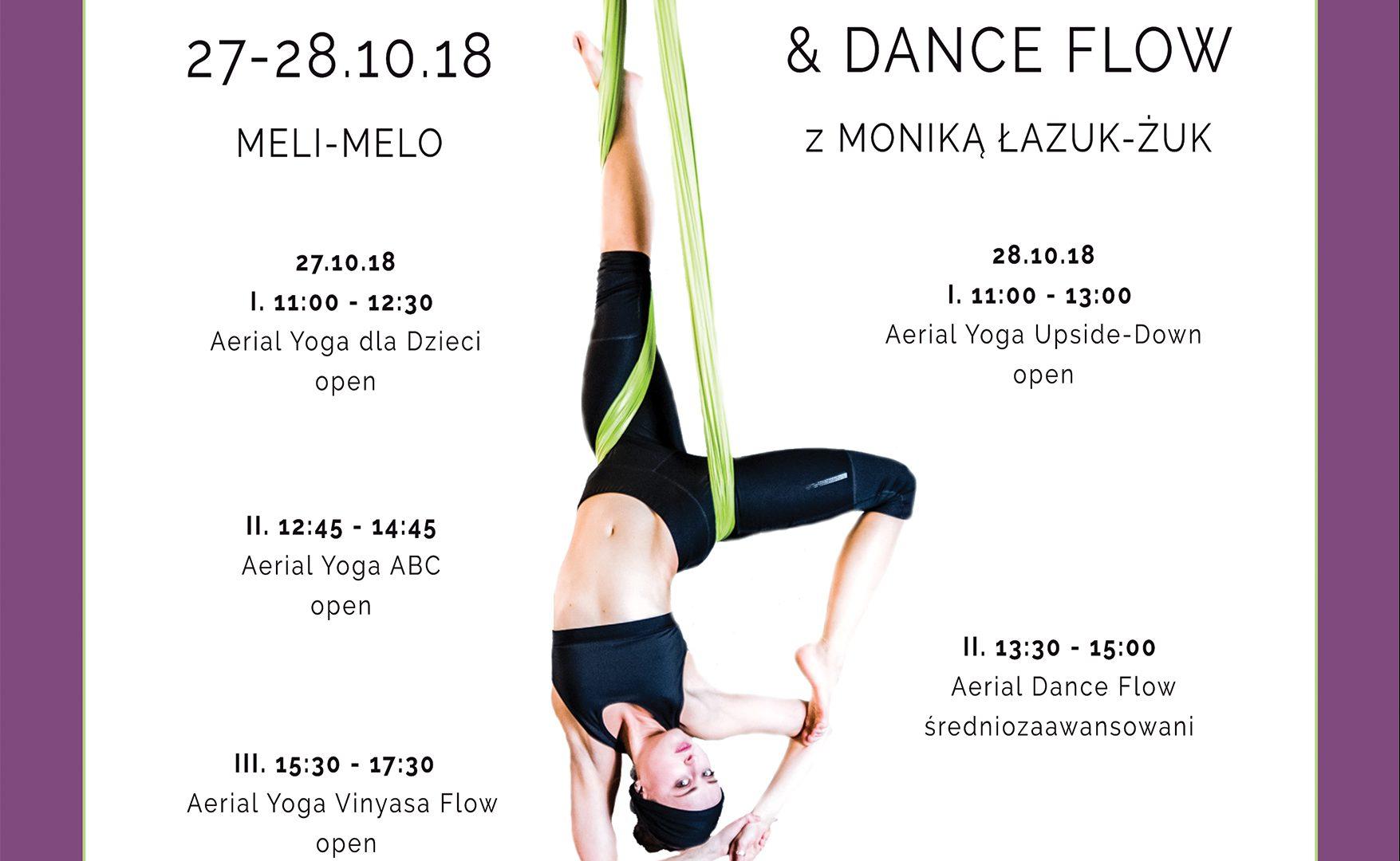 Aerial Yoga & Dance Flow z Moniką Łazuk-Żuk