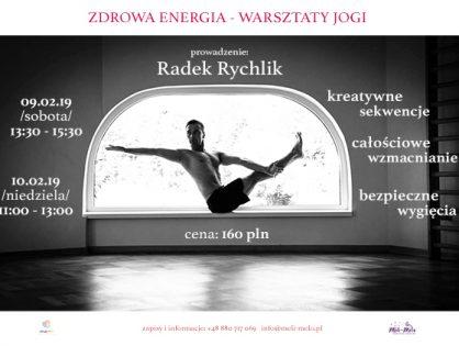 Zdrowa Energia - warsztat JOGI z Radkiem Rychlikiem