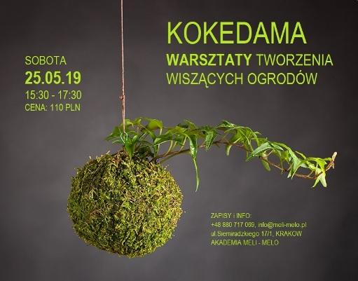 KOKEDAMA - warsztaty tworzenia wiszących ogrodów na Dzień Matki