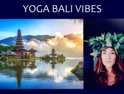 Bali Vibes Yoga w Krakowie - harmonia i balans z Kasią