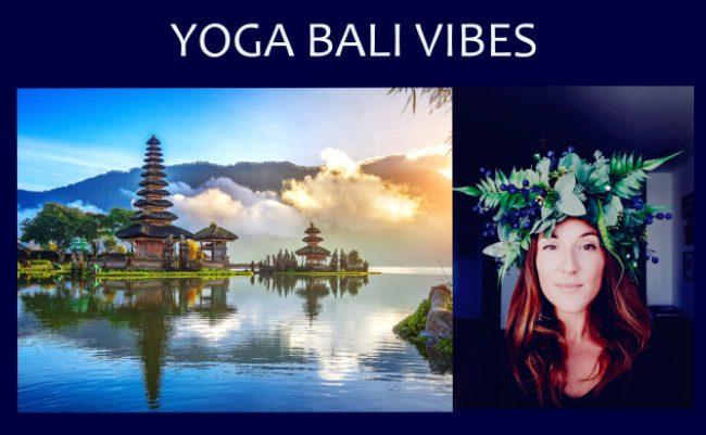 Bali Vibes Yoga w Krakowie – harmonia i balans z Kasią
