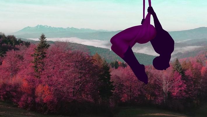 Aerial Wyjazd Listopadowy - w góry z hamakiem
