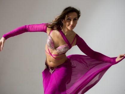 Home Stage Bellydance - projekt choreograficzny Sary Damm