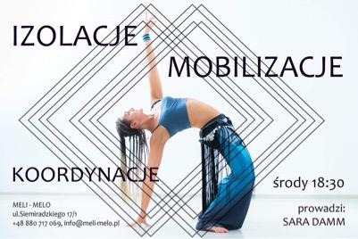 Izolacje, Mobilizacje i Koordynacje - dla tańczących i nie tylko