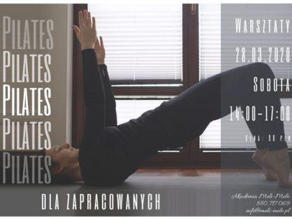 Pilates dla zapracowanych - warsztaty z Kingą Głazek